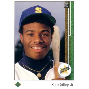 ken griffey jr upper deck rookie card